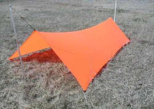 cat tarp (orange for demonstration only, not on sale)