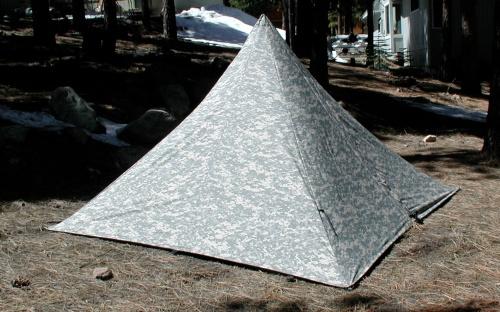 Pyramid in Camo