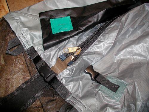 Tent zip #10