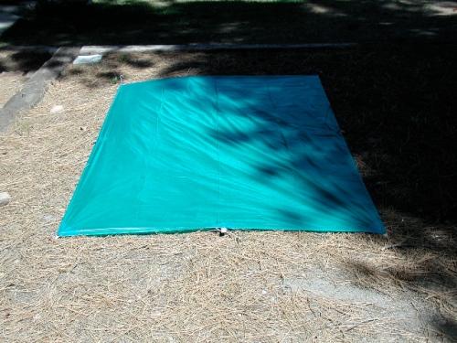 FlatTarp1 5x8 solo tarp