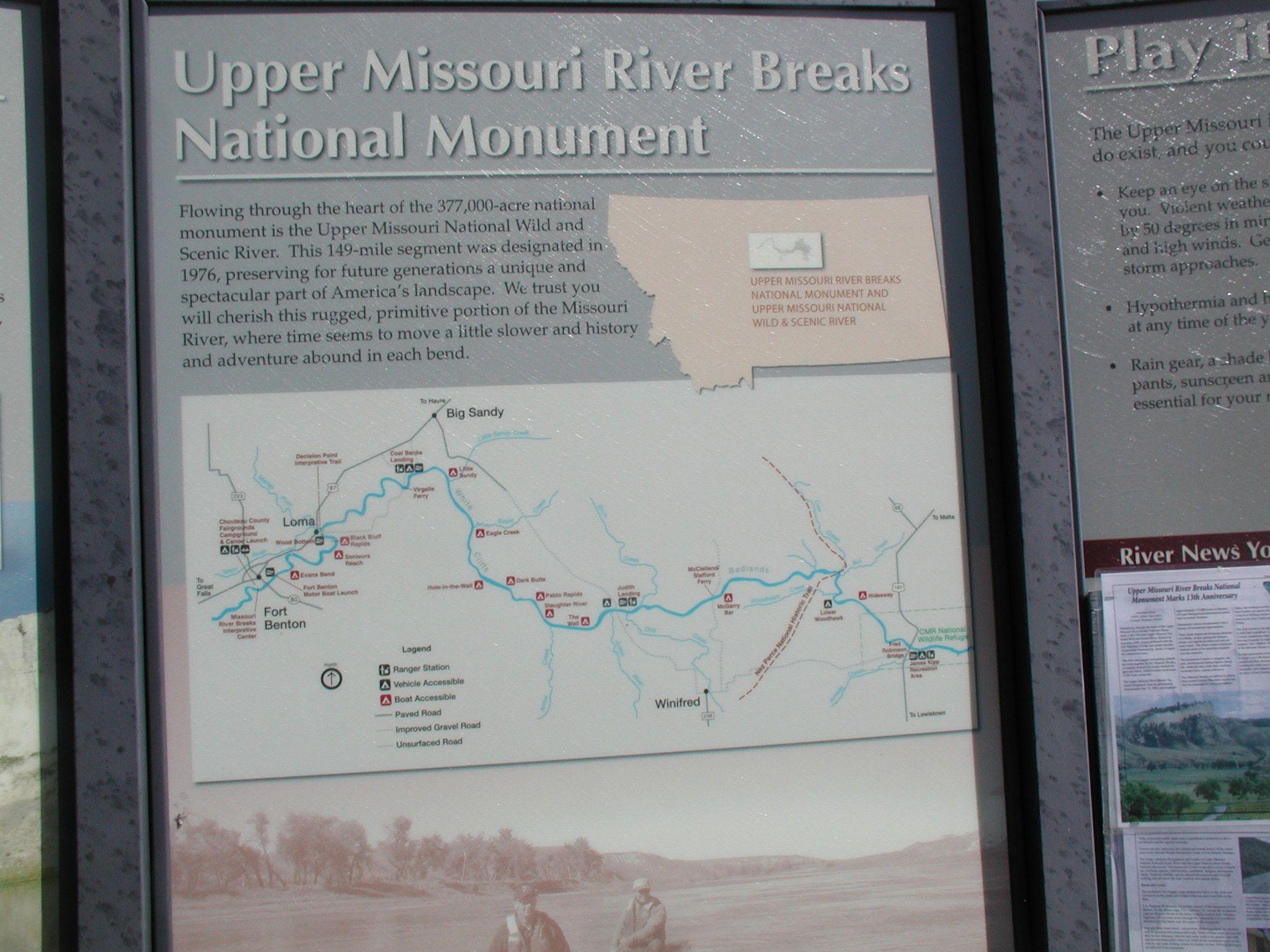 Canoeing the Missouri Breaks
