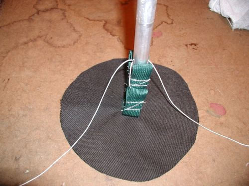 Tarp Paddle Holder