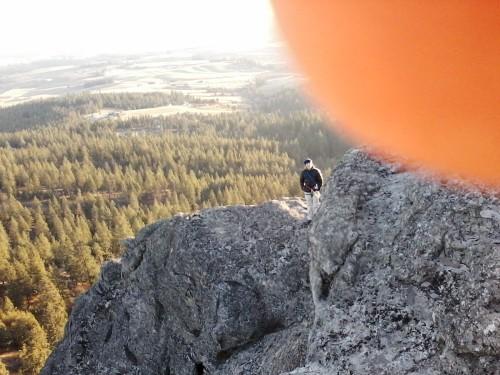 Top of Big Rock