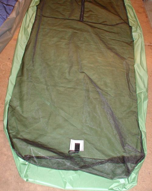 Top entry bug bivy