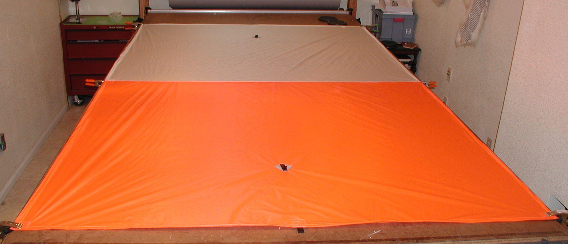 flat tarp 1.6 6x9.5'