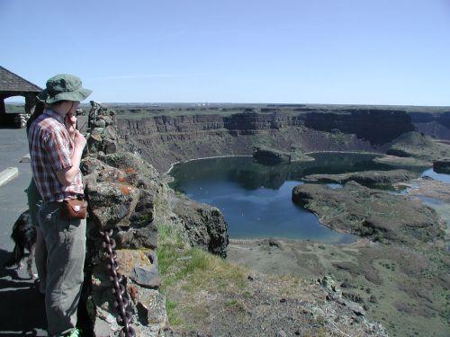 Dry Falls and Sun Lakes WA